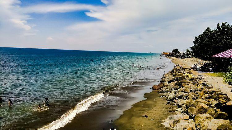 Keindahan yg melarutkan kenangan akan seseorang di masa lalu.. The Beach Life Cloud - Sky Sea Outdoors Nature Beauty In Nature
