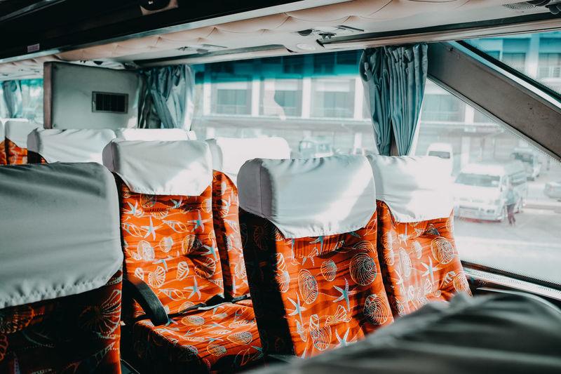 City of bangkok. bus ride