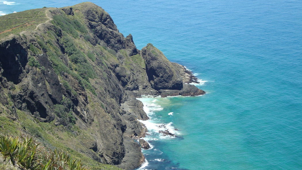 Cape Reinga Cliff Coastline End Of The Road History Maori New Zealand North Island Tasman Sea Northland