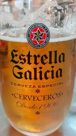 Close-up Beer Time Beer Glass Beerlover Beerpics Glass Estrellagalicia Cerveza Hijos De Rivera EyeEmNewHere