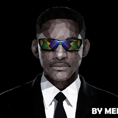 Low-Poly portrait of the legendary Will Smith........ Willsmith MenInBlack3 Portrait Lowpoly lowpolyart lowpolygon lowpolygonart polygons picoftheday photoshop tagsforlikes
