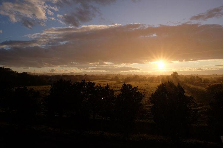 Sunny Rain in Corcagnano Landscape Sun First Eyeem Photo