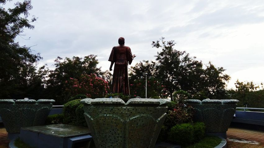 Statue Human Representation Cloud - Sky EyeEmNewHere