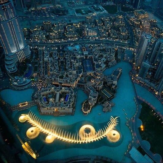 Dubai fountian