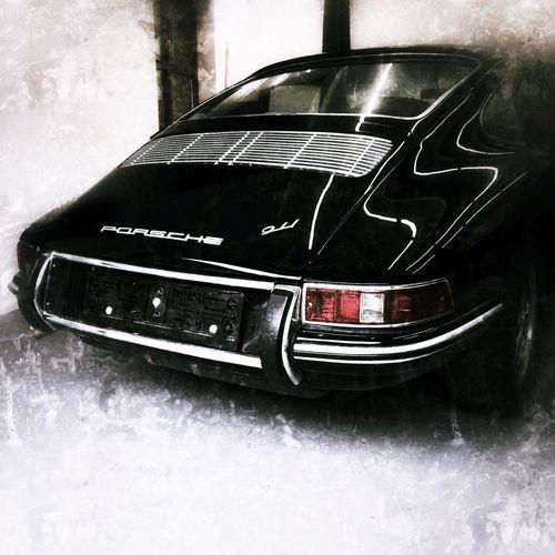 Porsche Porsche 911 911 Car Black Veteran History Legendary Car