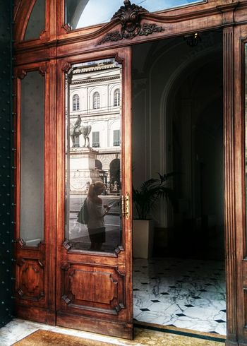 Yesterday's walk Reflection Doorporn Streetphotography The Street Photographer - 2014 EyeEm Awards