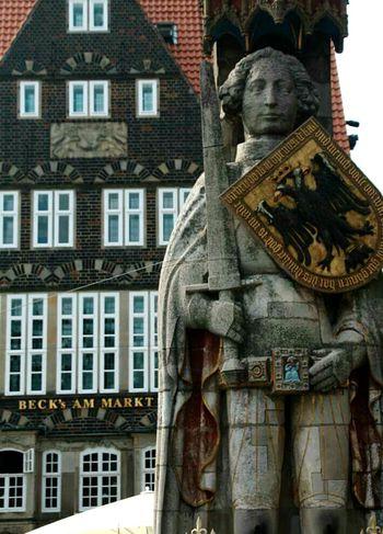 Bremen Germany Roland City Sightseeing