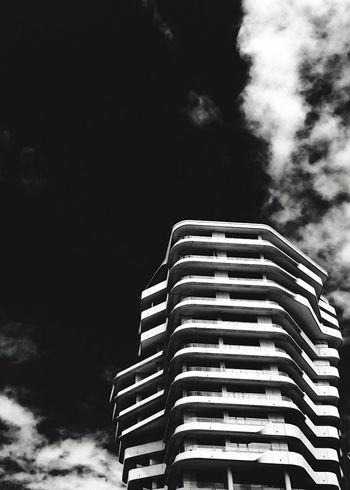 Urban Geometry Blackandwhite Black & White Black And White Cityscapes Façade Architecture IPhoneography Creative Light And Shadow