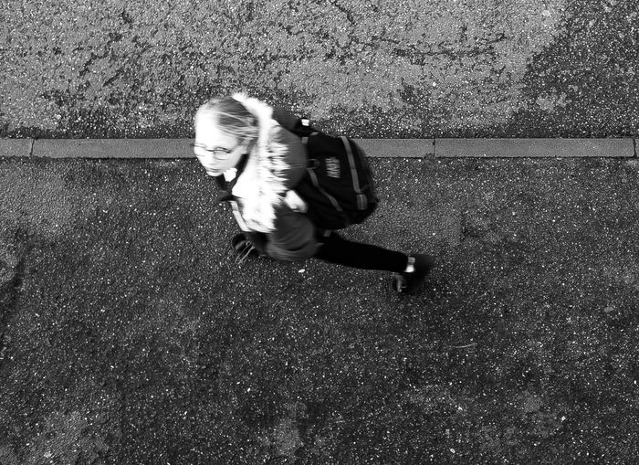 oxford's student life Ways Of Seeing Street_oxford Motion Capture Motion Blur Streetphotography Looking At Camera Street Photography Streetphoto_bw Blackandwhite Photography One Person High Angle View Childhood Full Length Real People Day Outdoors Love Yourself Press For Progress Stories From The City Visual Creativity The Creative - 2018 EyeEm Awards The Portraitist - 2018 EyeEm Awards The Street Photographer - 2018 EyeEm Awards #urbanana: The Urban Playground A New Perspective On Life It's About The Journey