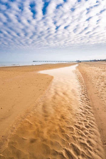 Beach Beauty In Nature Cloud - Sky Day Horizon Over Water Nature No People Outdoors Sand Sand Dune Scenics Sea Shore Sky Tranquil Scene Tranquility Water
