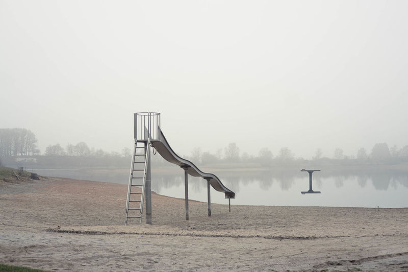 Beach Day Fog