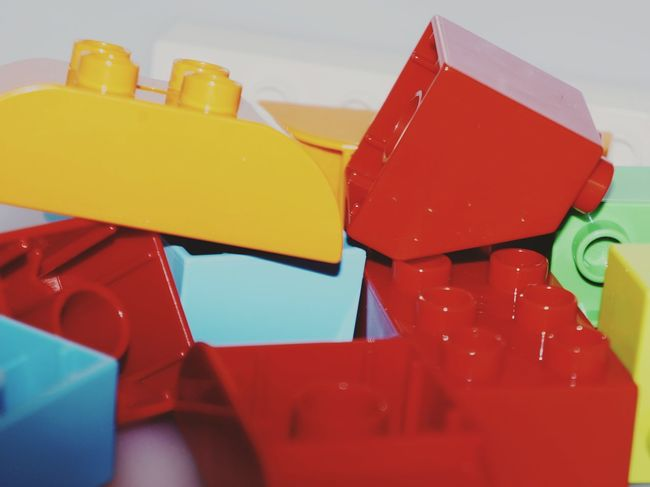 LEGO Duplo Shape Multi Colored Textured  Pattern Diversity EyeEm EyeEmNewHere EyeEm Gallery The Week On EyeEm Eyeem Market EyeEm Best Shots EyeEmBestPics The Week Of Eyeem Pattern, Texture, Shape And Form Colors Kids Playing Games Leisure Activity EyeEm Selects Red Yellow No People Close-up White Background Indoors  Day