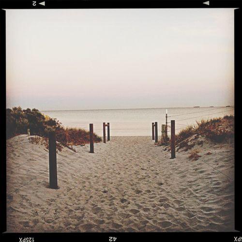 The Beach  Calmity Peace