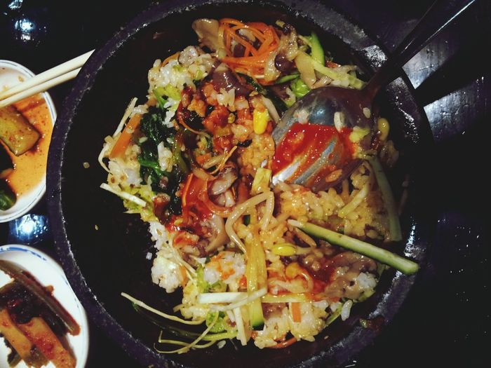 bibimbap Korean Food Eating Hello World Enjoying Life