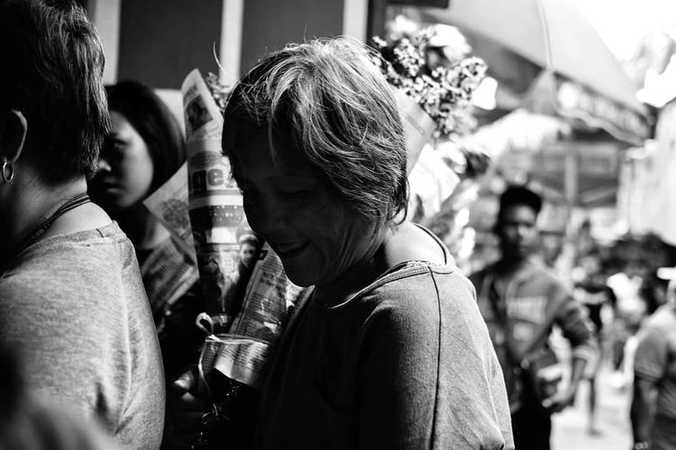 Dark Smile. StreetsofBaguio Baguio Bnw_of_our_world Bnw_greatshots WhenInBaguio Streetphotography Philippines Bnw_society Bnwmood Bnwphotography PhotowalkPH Igersbnw Nikond3300 35mm Igersmanila Bnw Bnwphilippines Igers Bw Blackandwhite TBT  Nikon Dailylife Locals Dailygrind Streetphotographyph Street Community Photowalkmanila Bnwportrait Streetphoto_bw Street Photography Bnw_friday_eyeemchallenge Bnw_captures Bnw_life Street Life Streetphilippines Streetphoto Young Women Crowd Friendship Togetherness Headshot This Is Aging Visual Creativity This Is Family Focus On The Story The Street Photographer - 2018 EyeEm Awards The Portraitist - 2018 EyeEm Awards The Still Life Photographer - 2018 EyeEm Awards The Photojournalist - 2018 EyeEm Awards The Traveler - 2018 EyeEm Awards