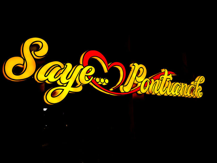 Saye pontianak Pontianak Pesonaindonesia Pesonapontianak Wonderful Indonesia Exploreindonesia Explore Pontianak Vacations Vacation Destination Night Chinese New Year No People Dragon Astrology Sign Chinese Dragon Black Background Arts Culture And Entertainment Yellow Illuminated Nightlife