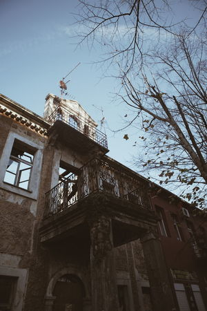 Architecture Building Exterior Built Structure City Day Low Angle View No People Old Buildings Old-fashioned Outdoors Shadow Sky Sun