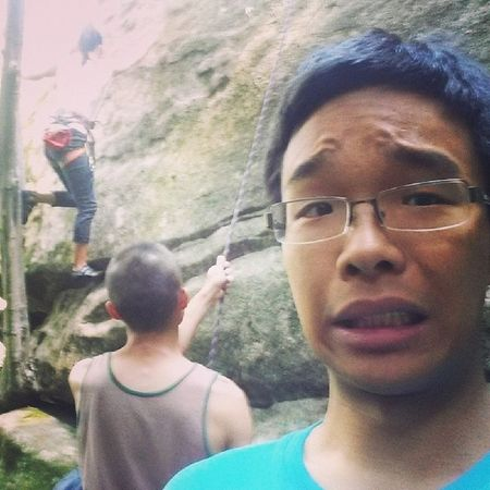Seriously though, the tree is in the guidebook. Have fun in Thailand guys! Sketchy Slab Climbing Alldayeveryday  클라이밍