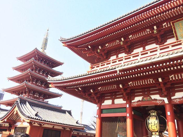 Japan Temple Tokyo Enjoying Life