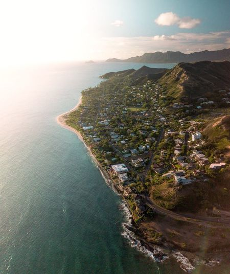 The drone is a tool. A tool that lets my ideas reach the sky. There are no limits, no excuses. If you don't know how, YOU LEARN. There is no limit. Mountain Aerial View Scenics Landscape Sea Water Nature No People Beauty In Nature Outdoors Mountain Range Day Architecture Sky Hawaii Hawaii Life Drone  Dronephotography Mavic Pro Lost In The Landscape Lost In The Landscape