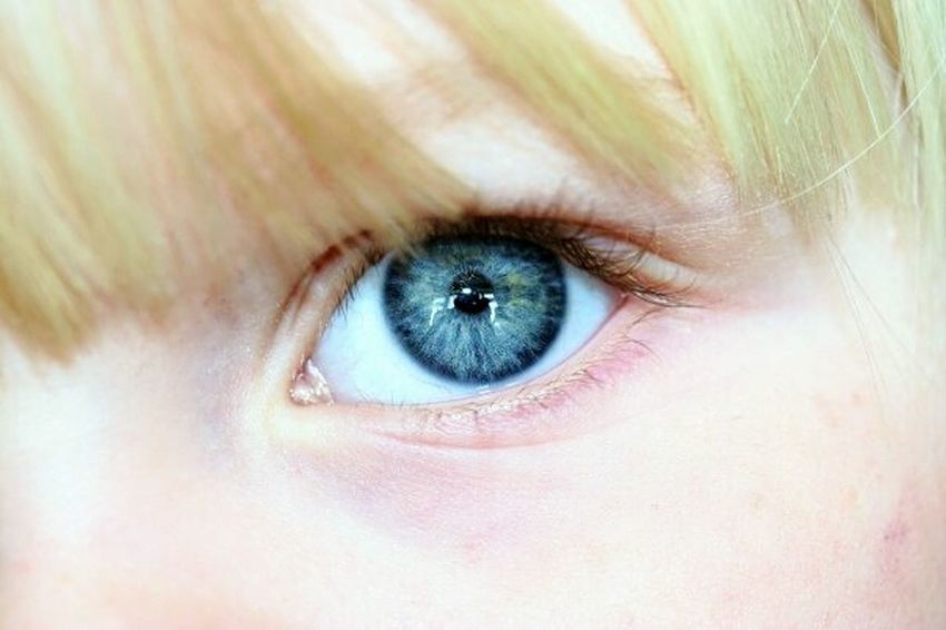 Daughter Eye Close Up DONT BLINK ! Eye Of The Beholder  Blue Eyes Eyes Wide Open Macro Beauty