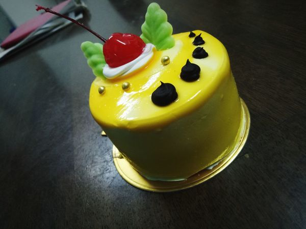 Mini Cake Mango Cake Cute Cake With Cherry Tea Time ❤