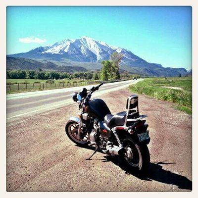 On The Road Mt. Sopris Colorado
