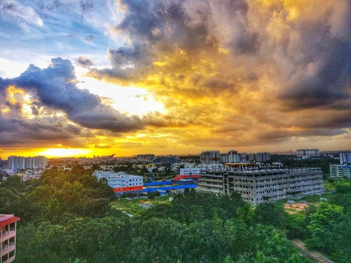 Lost In The Landscape Amrita School of Business Cloud - Sky Sky Nature City Outdoors Sunset Evening