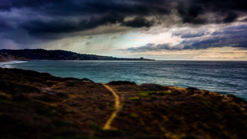 Showcase: November Rainy Days Stormy Weather La Jolla Cove San Diego Ocean