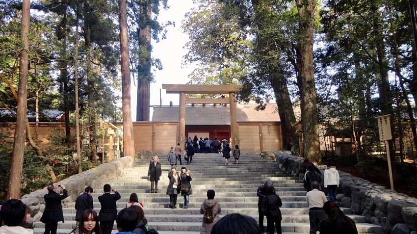 Ise Jingu Naiku This is the most venerable sanctuary in Japan. It was enshrined about 2,000 years ago and has been revered as a guardian of Japan.⛩🇯🇵 Ise Mie Japan Photography ASIA Japanese Style God Shrine Tradition Historical Travel Destinations Pray EyeEm Best Shots Japanese Shrine Japanese Traditional TORII Old But Awesome Feeling Thankful Hello World Enjoying Life 伊勢神宮 伊勢神宮内宮 伊勢市 三重県