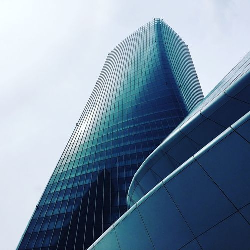 Skyline Built Structure Architecture Building Exterior Sky Office Building Exterior Low Angle View Building No People Office