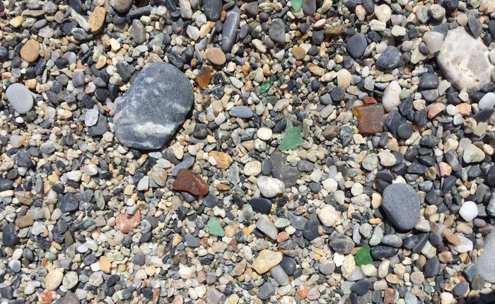 One in a million Beach Pebbles Pattern Textures And Surfaces Simplicity Say It Without Words Sun Seaside Glass Art Countless