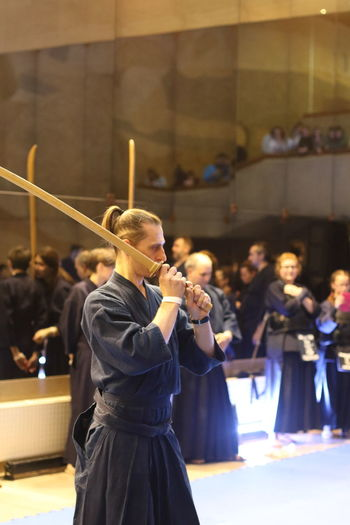 Japanese Kendo tournament EyeEmNewHere Fancing Tournament Japan Japanese Old Fancing Katana Wakizashi Japanese Culture Kendo Laido Japanese Old Fancing
