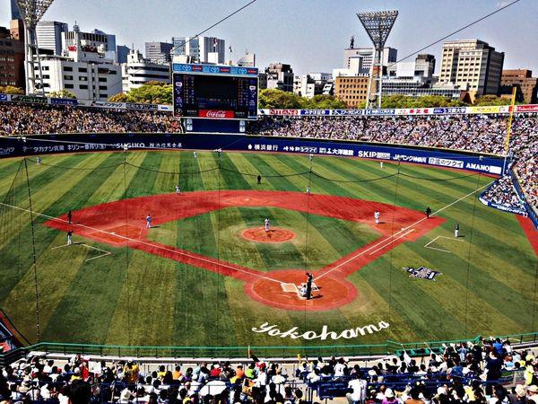 Baseball 野球 阪神タイガース Yokohama Baystars