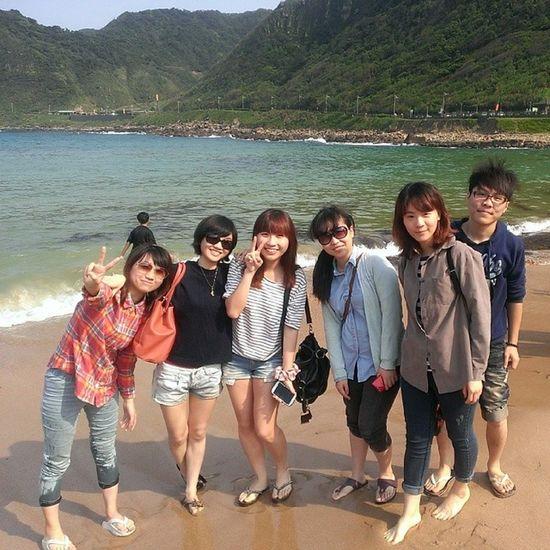 Holiday Beach Friends Travel Taiwan 2014