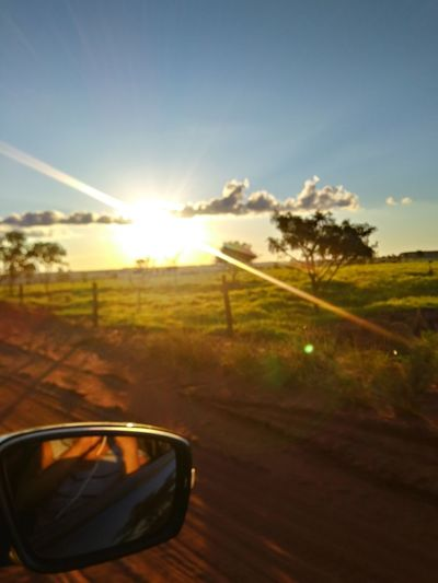 fazenda em Minas Gerais Capture Tomorrow Tree Eyesight Sunset Rural Scene Sunlight Summer Sun Reflection Field Sky