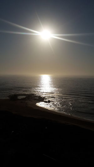 Sunrise Amanzimtoti sea Waves, Ocean, Nature
