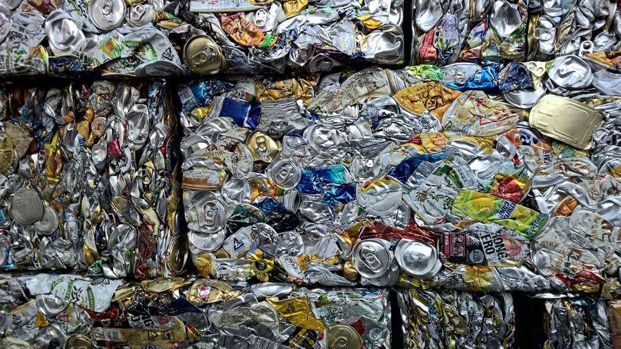空き缶 エコ ゴミ サステイナブル リサイクル プレス Tincan Press Ecology Recycle Sastainable