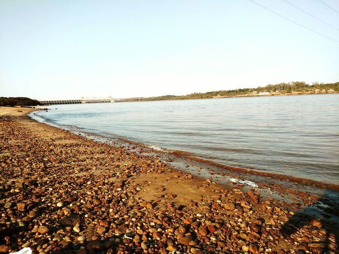 Represa Latortuga Pesca Río
