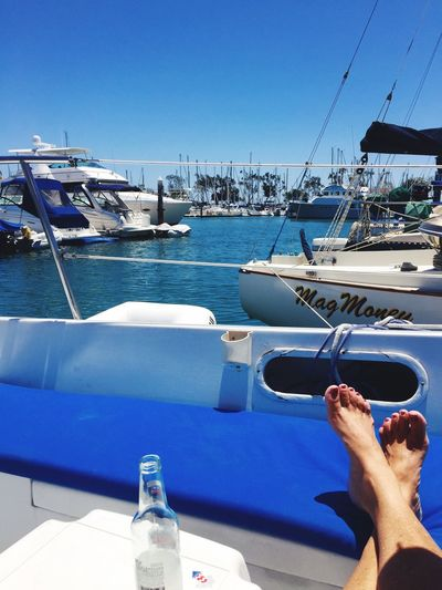 Chillaxing Holiday POV Boating Sailing Summer ☀ IPhoneography Harbor View Dana Point Harbor