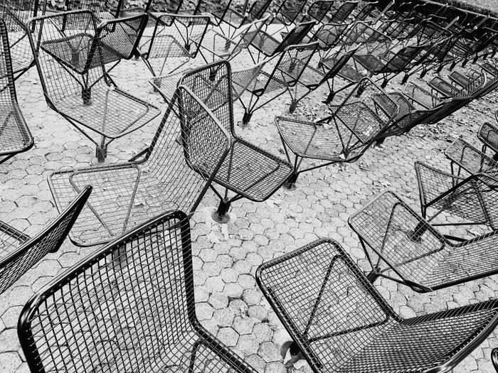 Chairs Outdoors No People Chairs Stühle Chaise Black And White Black & White Black And White Photography The Week On EyeEm