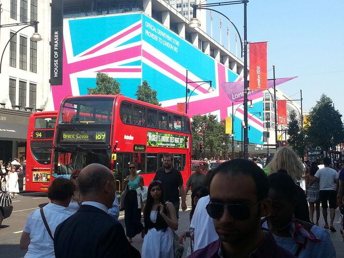 Britain Crowds