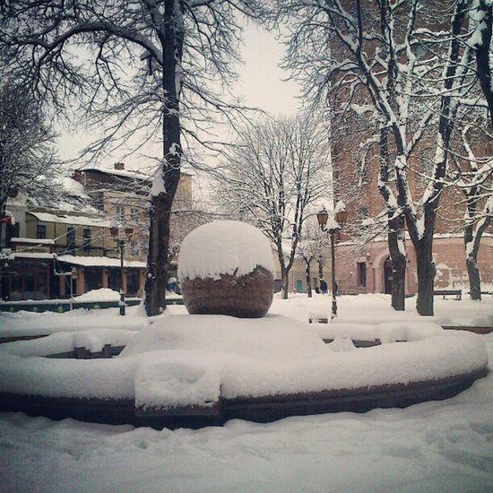 White square Vinnitsa Vnua