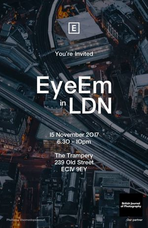 #EyeEmInLondon: We're throwing a photographer event with The British Journal of Photography next Wednesday! Comment with your UK-themed music recommendations for the evening's playlist below – we'll pick our favorites and play them at the venue. 🎶 If you're in town, RSVP here (we'd love you to join us!) → https://www.eventbrite.com/e/eyeem-ldn-takeover-tickets-39481168237?aff=eac2