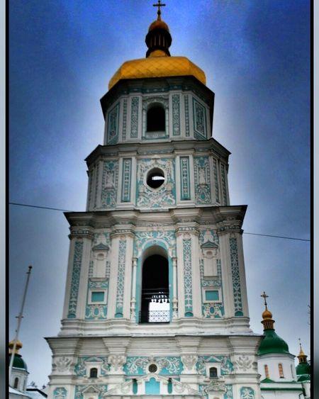 Ukraine Capital Cloud - Sky Day People City Kiev_foto Nature Day ❄ It's So Cold . ⛪Church L_kseniyA
