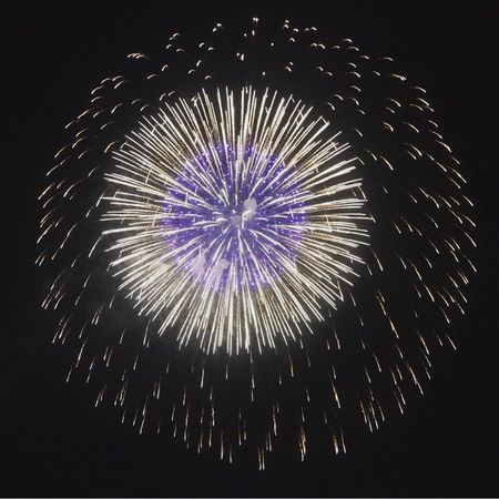 Fireworks NagoyaPort Lastsunday Holiday Japan Nagoya