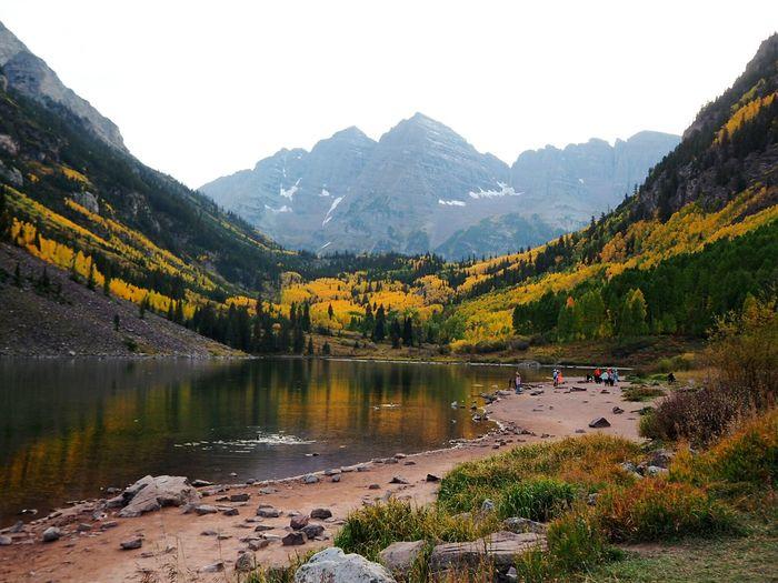 Maroonbells Aspen, Colorado Rocky Mountains Vacation Hiking Mountain Fall The Great Outdoors - 2019 EyeEm Awards
