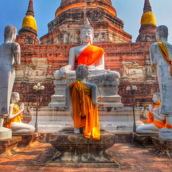 Architecture Building Exterior Built Structure Capital Cities  Cathedral Church Clear Sky Dome Famous Place History International Landmark Place Of Worship Religion Spirituality Temple - Building Tourism Travel Travel Destinations Spotted In Thailand