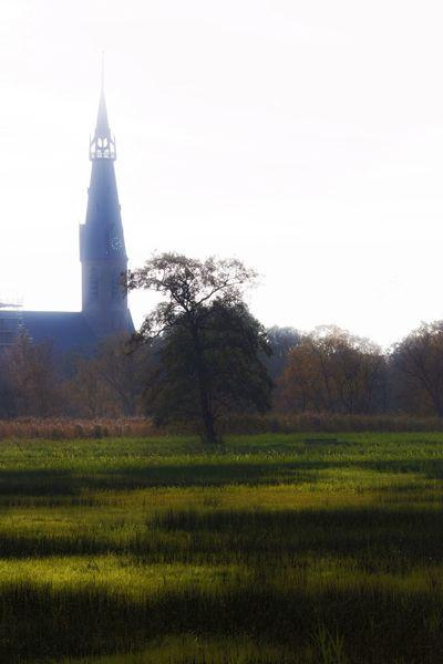 Church Backlit Landscape_Collection Orton Effect