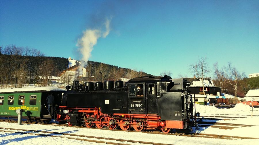 Fichtelberg Oberwiesenthal Fichtelbergbahn Dampflok